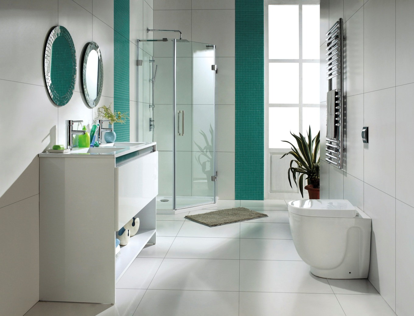 simple bathroom decorating ideas - midcityeast