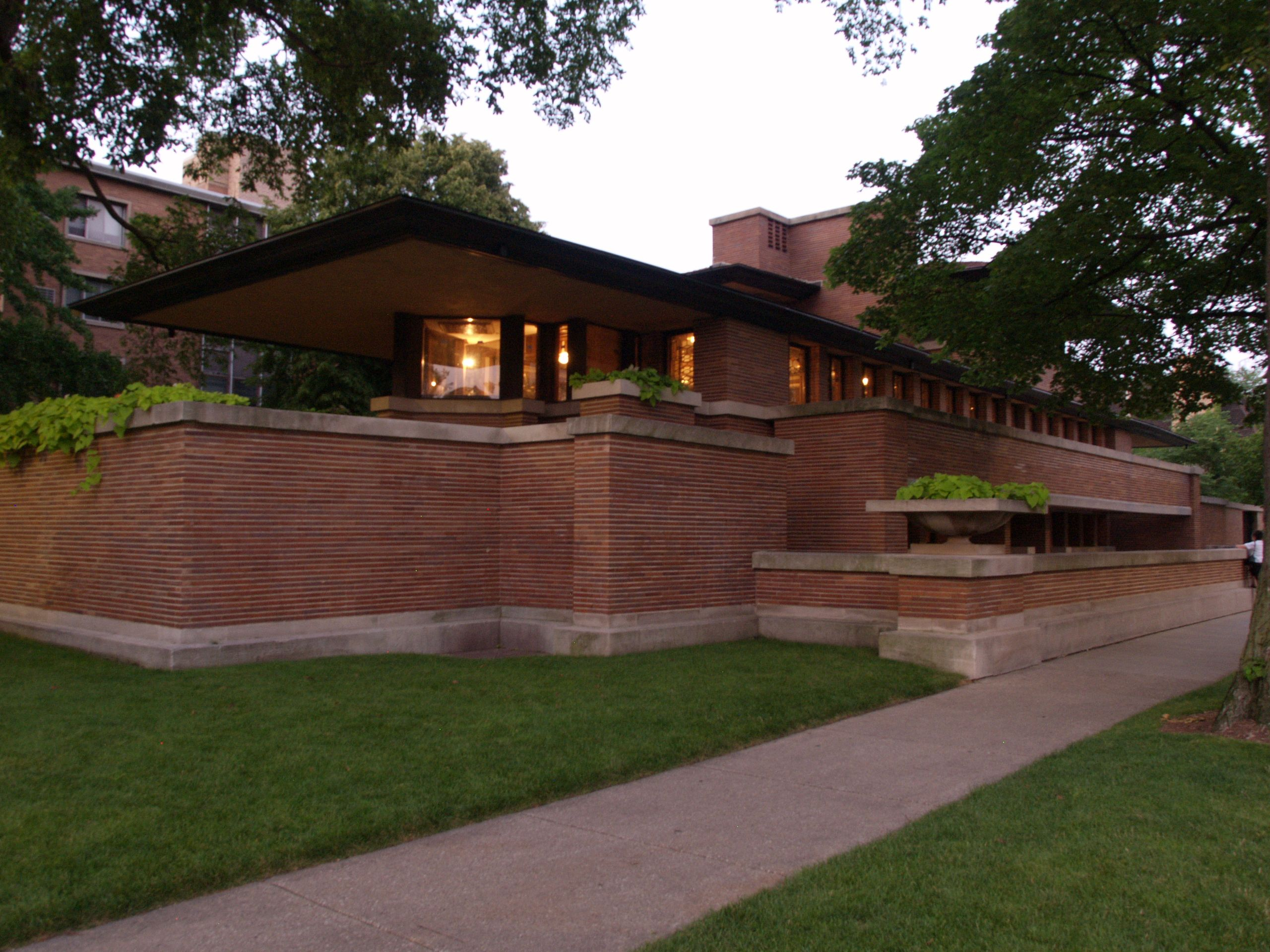 The magnificent frank lloyd wright designs midcityeast for Frank lloyd wright stile prateria