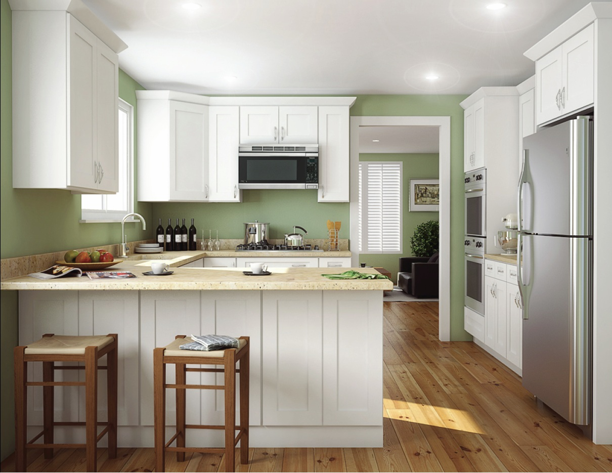 painting cabinets white 5