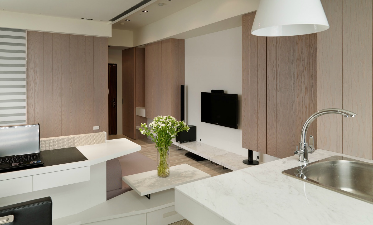 Small Apartments Decorating Working With A Studio Apartment Design Midcityeast