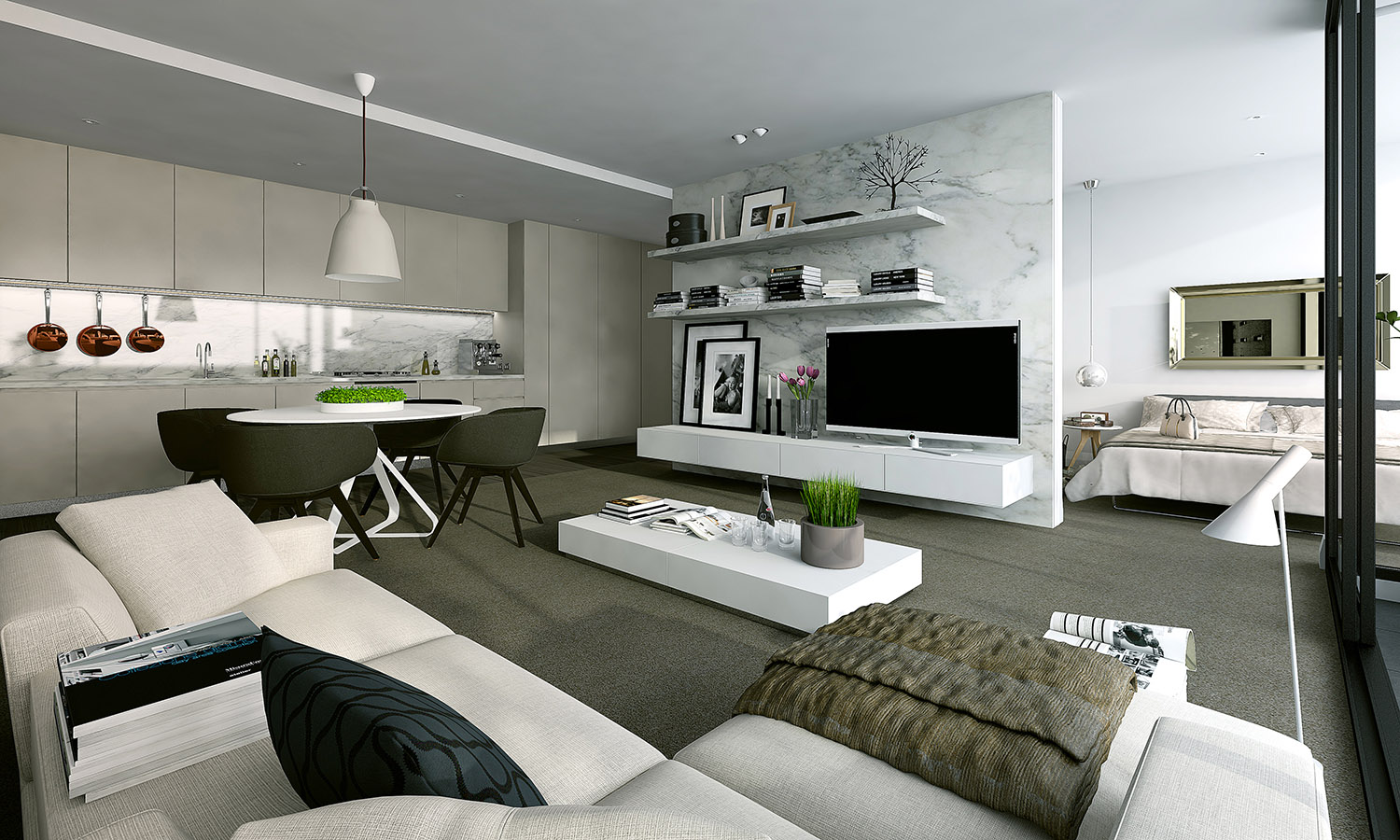 Studio Apartment Design 3