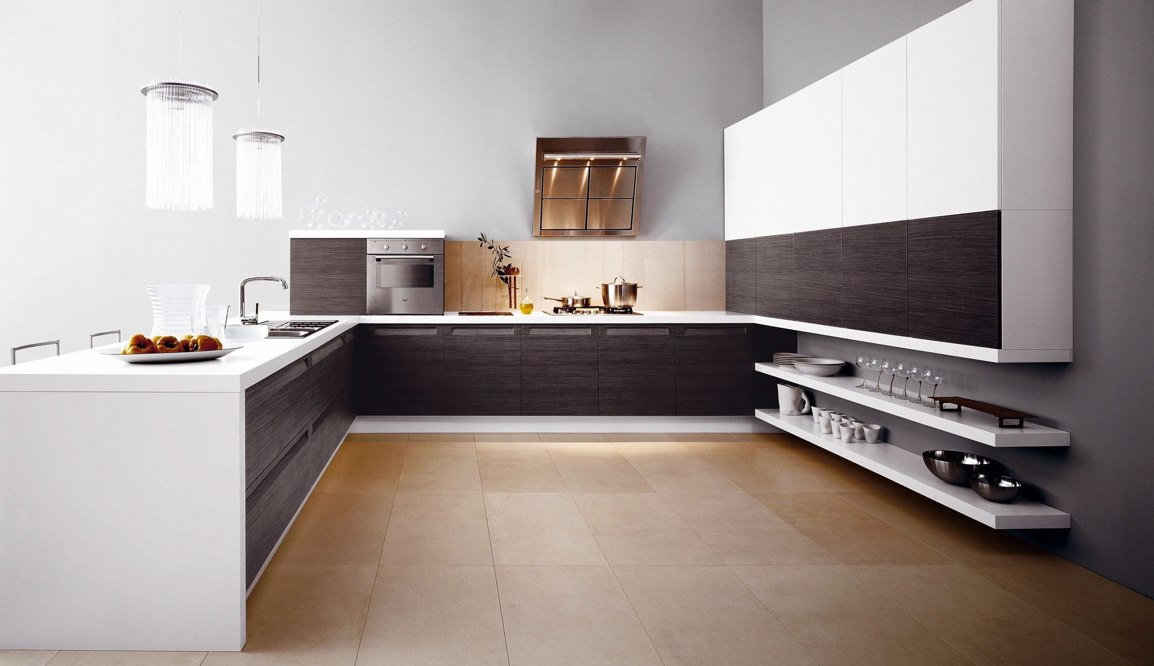 Italian kitchen design ideas midcityeast for Photos of new kitchen designs