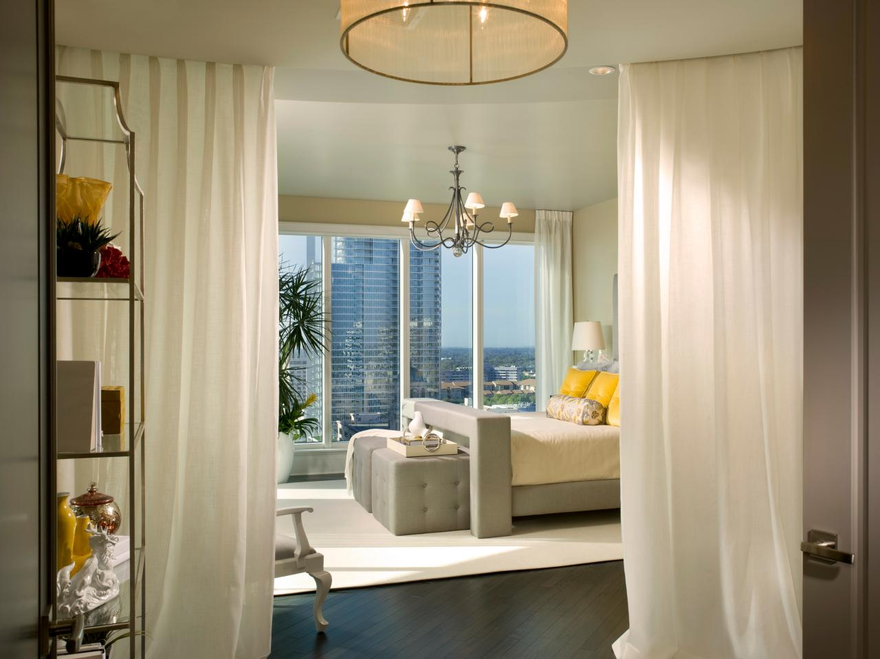 Modern Bedroom Design With Window Treatment Ideas Good Ideas