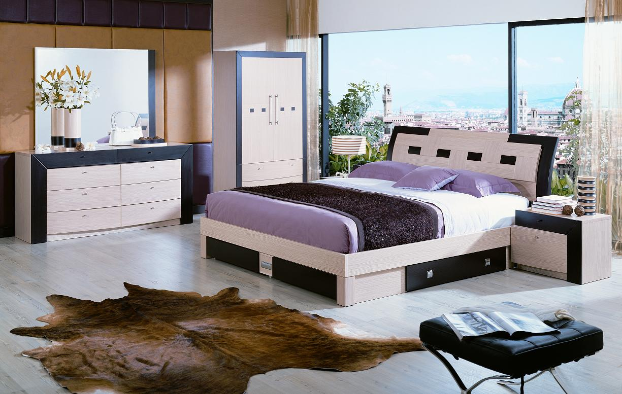 Online Bedroom Design design and decorating your own bedroom Animal Skin Rug Decorating Comfy Bedroom Using Modern Furniture With Unique Bed And Wardrobe Cabinet