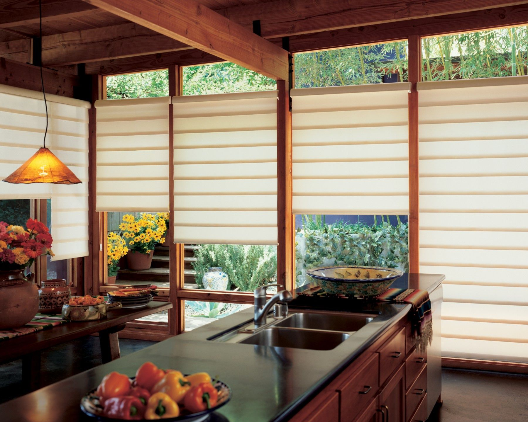 These window treatment ideas will blow your mind away for Window blinds ideas