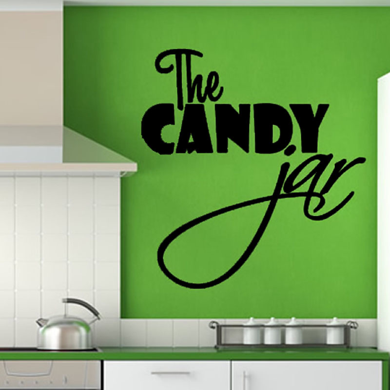 Choose Black Kitchen Wall Decor for Green Painted Wall beside White Range Hood and White Cabinets
