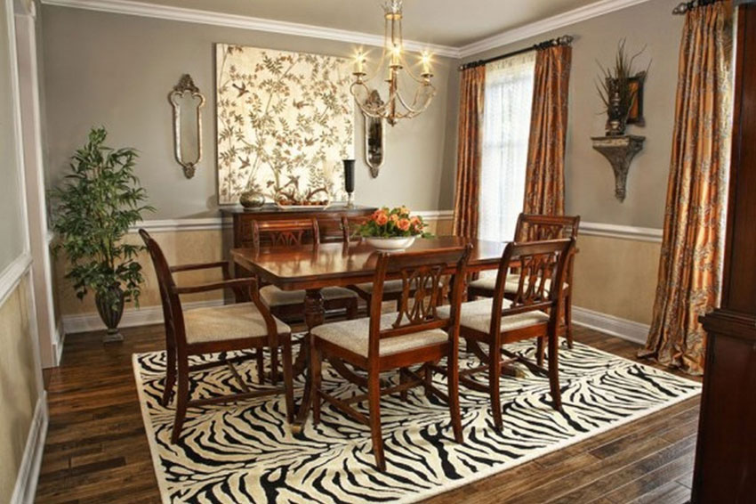 Formal dining room ideas how to choose the best wall - How to decorate a dining room ...