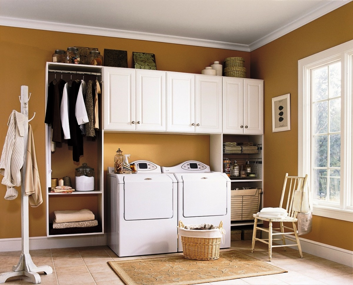 Deciding appropriate laundry room decor midcityeast for Utility room ideas