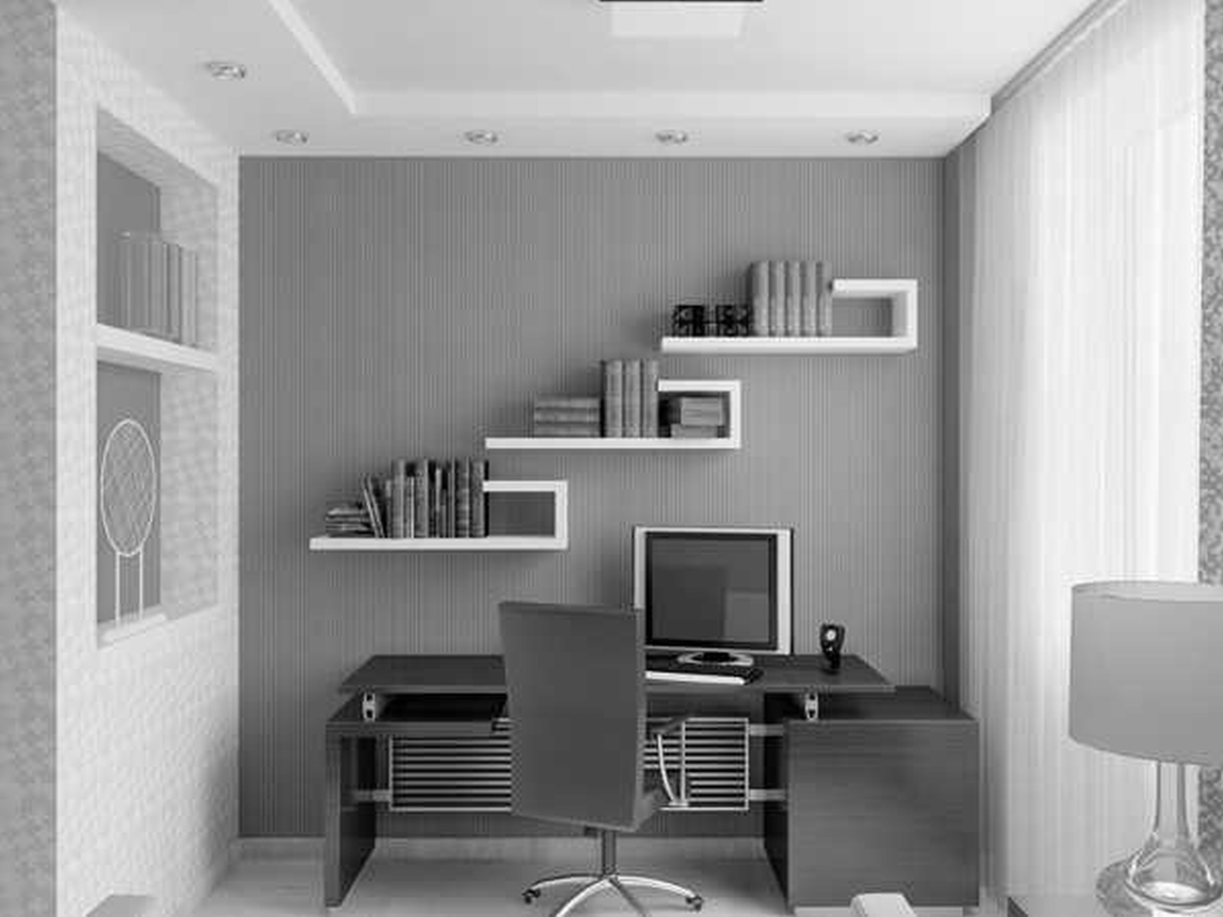 Home office ideas homey feeling and office look midcityeast Home ideas