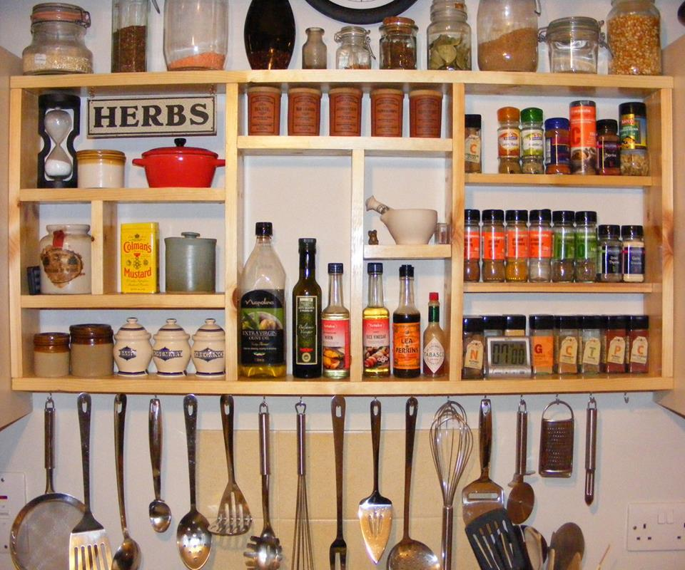 Effective Pantry Shelving Designs For Well Organized: Like Cooking? These Are Why Spice Rack Ideas Will Be Good