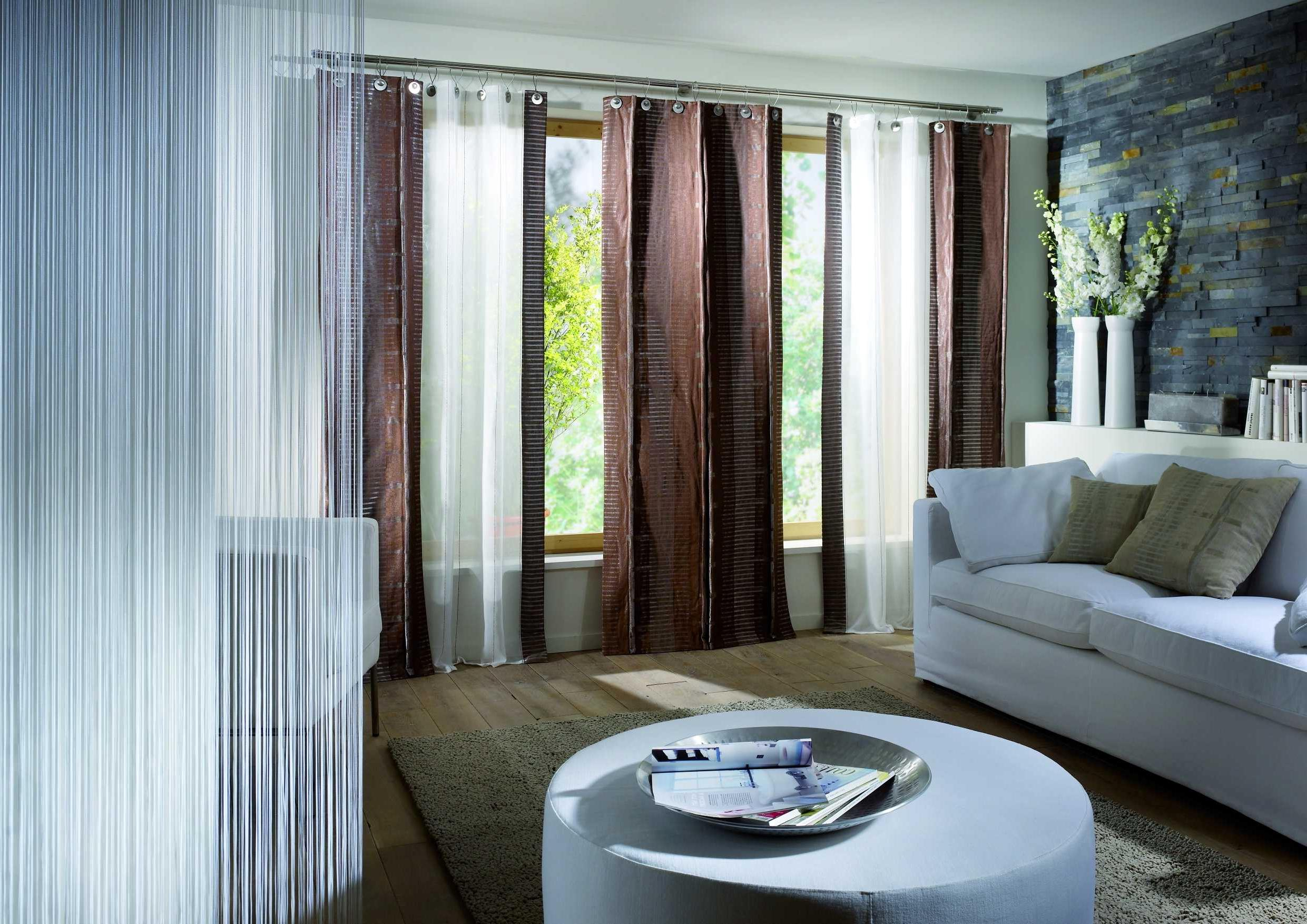 8 Fun Ideas for Living Room Curtains - MidCityEast