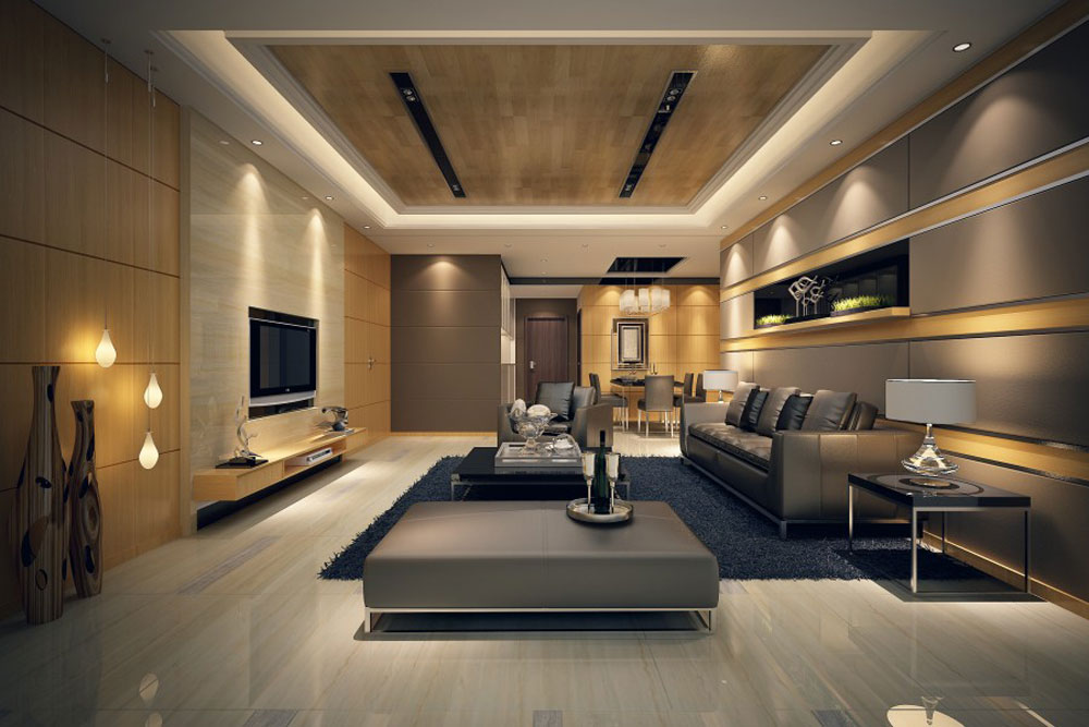 Modern Style Living Room awesome bench in living room contemporary room design ideas