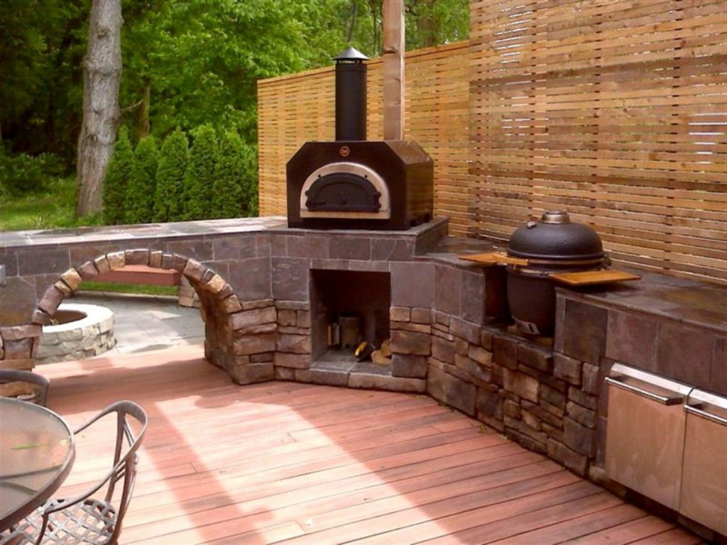 Building some outdoor kitchen here are some outdoor for Outdoor grill island ideas