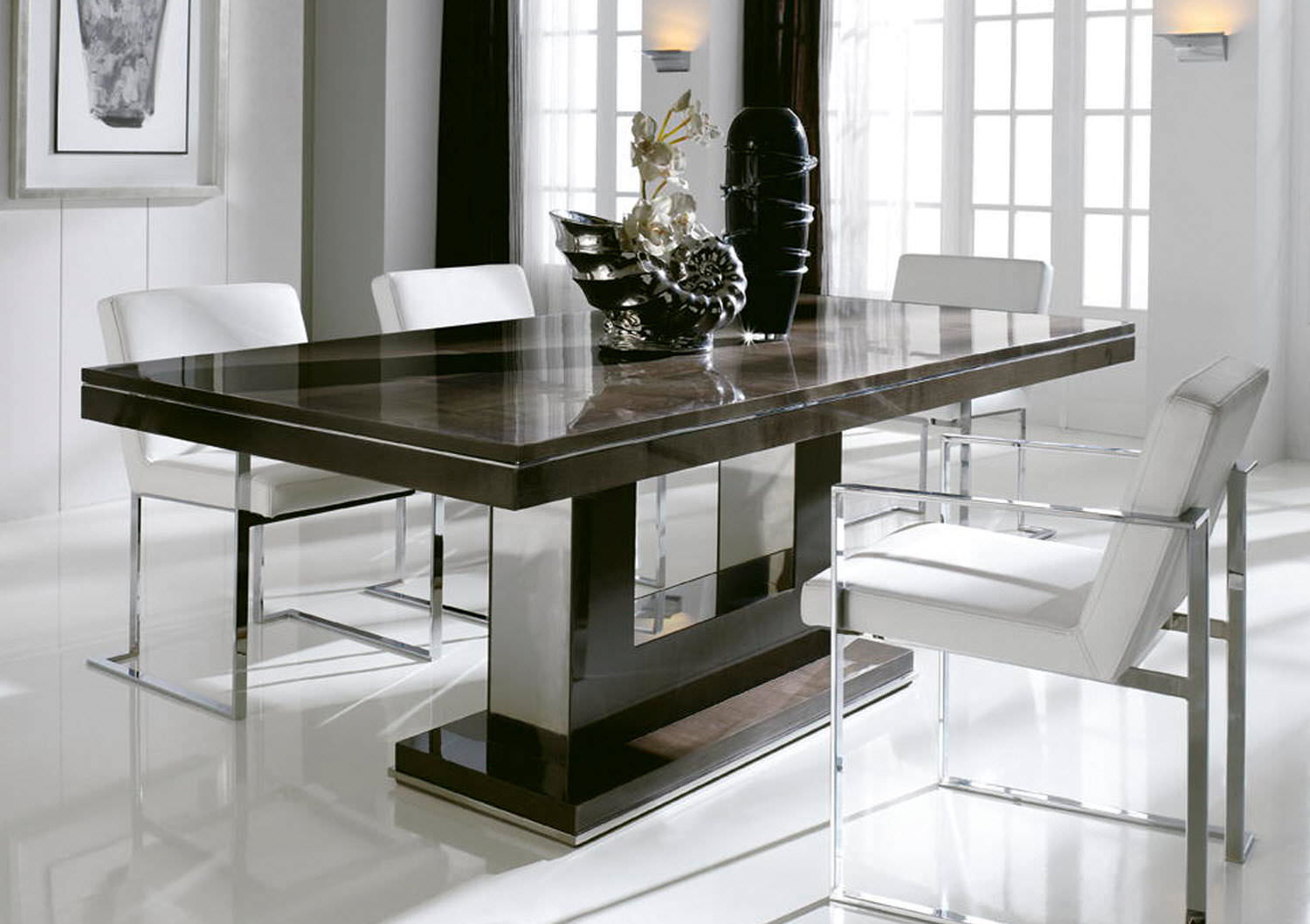 Entertain your guests with perfect dining table midcityeast for Modern contemporary dining table