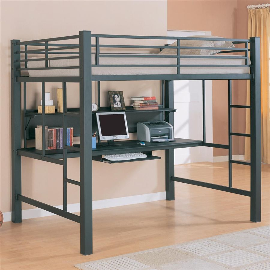 Bunk Beds With Desk Designs In Functional And Beauty Midcityeast