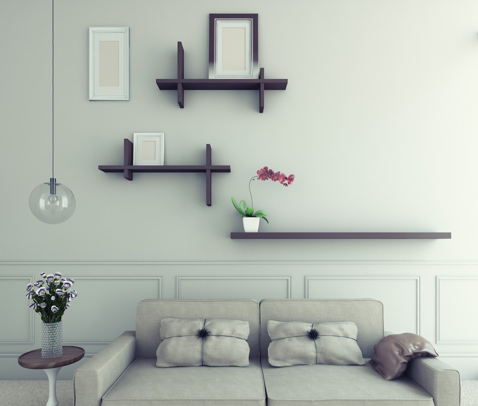 Simple Home Design Ideas: Wall Decor Idea For Blank Wall