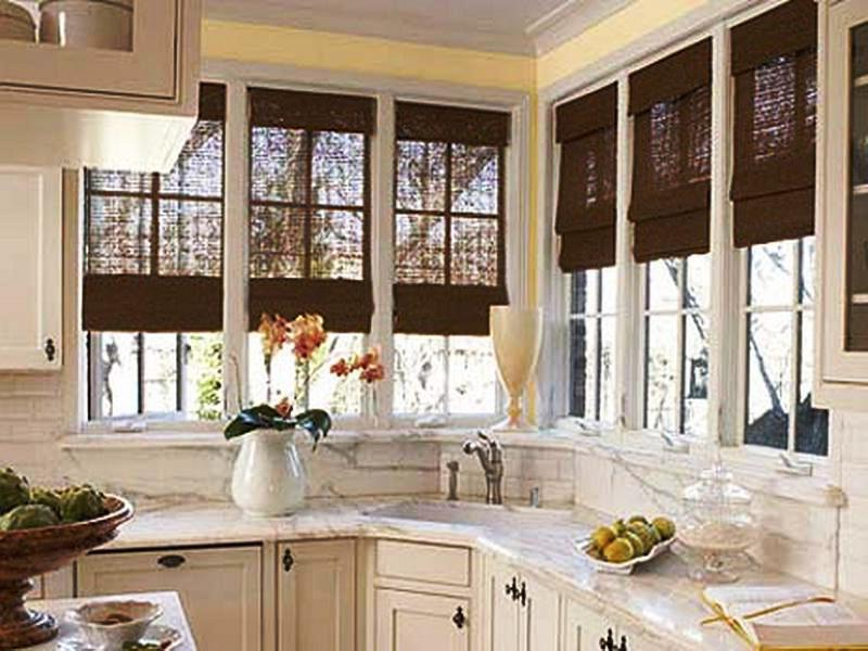 Protective Kitchen Window Treatment with Vertical Blind to Also Give Better Privacy