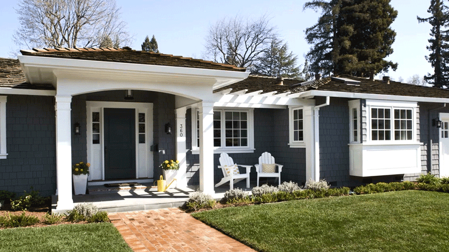 What exterior house colors you should have midcityeast for Pictures of painted houses exteriors