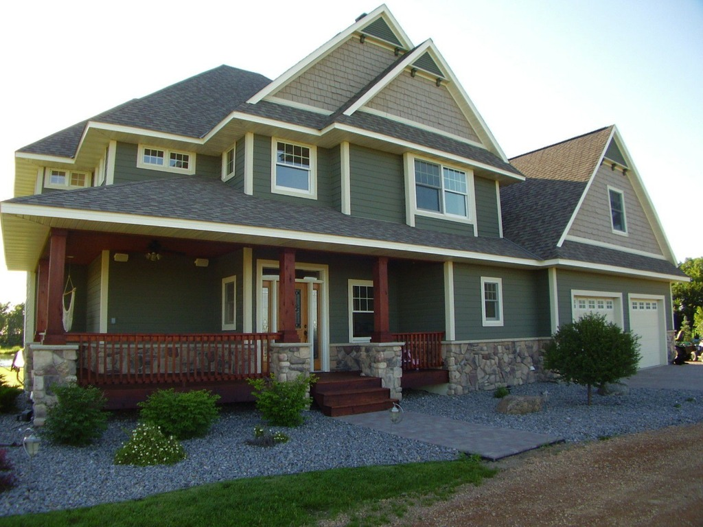 You seriously need these exterior paint colors midcityeast for Blue grey exterior house paint