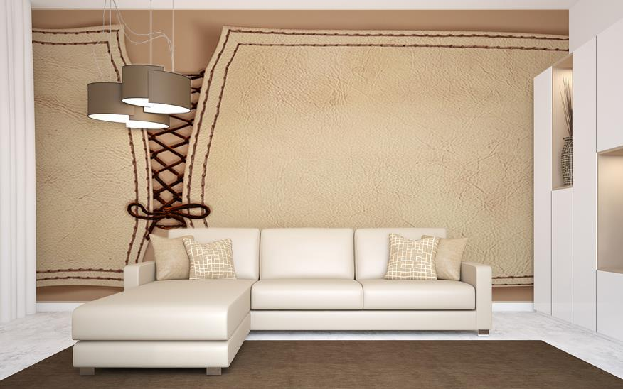 Unusual Wall Decor Ideas For Modern Living Room With White Sofa Chaise And Grey Shaded Ceiling