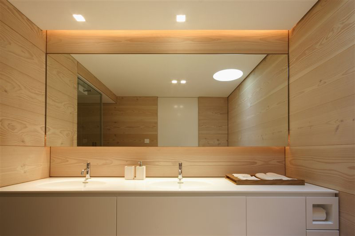 3 simple bathroom mirror ideas midcityeast - Picture of bathroom ...