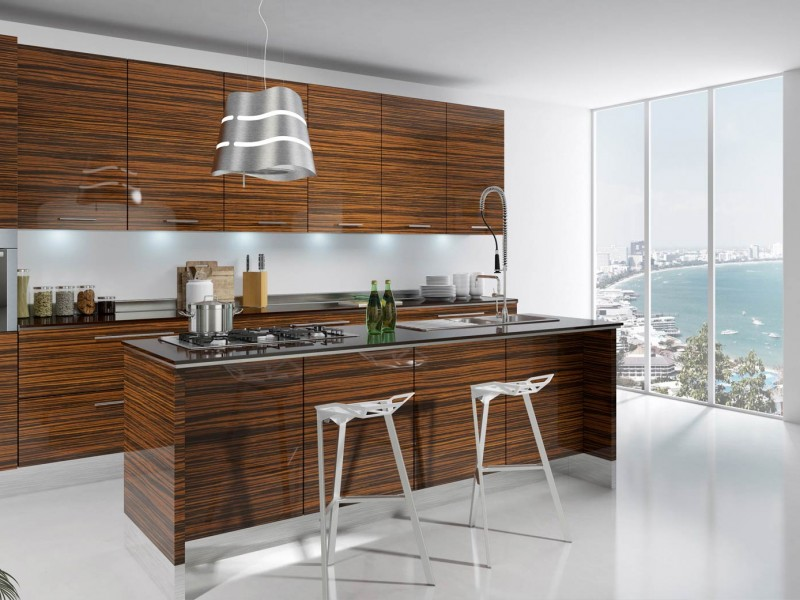 luxurious touch applying a modern kitchen cabinets luxurious kitchen cabinet in mansion stock photos