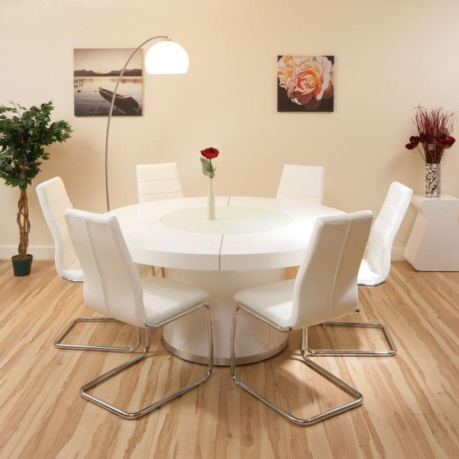 Round Dining Room Sets For 6: Choose Round Dining Table For 6