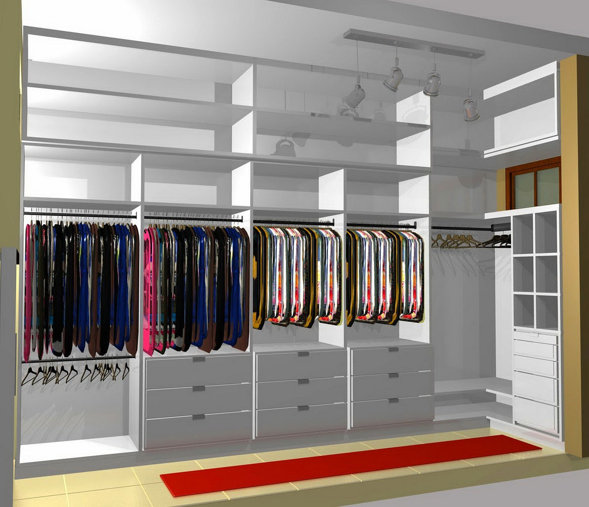 The Best Minimalist and Elegant Closet Design Ideas for Men ...