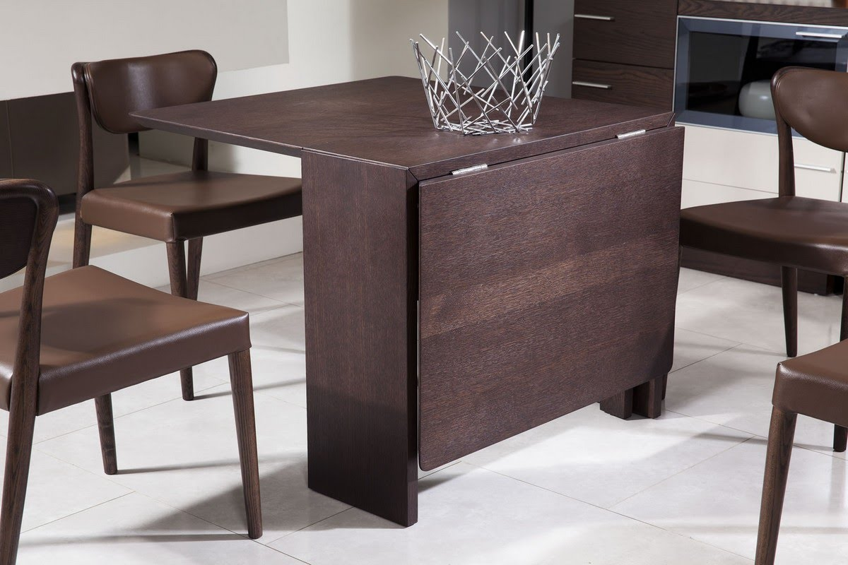 Various Ideas Of Folding Dining Table