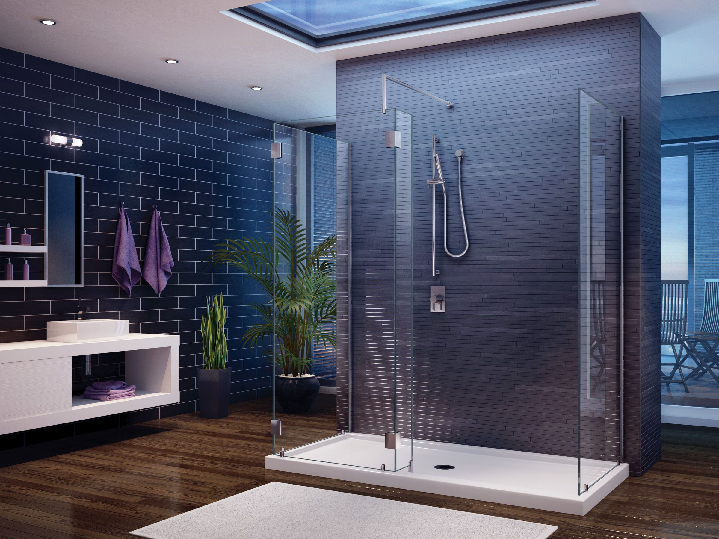 Modern Concept of Bathroom Shower Ideas and Tips on Choosing Shower ...
