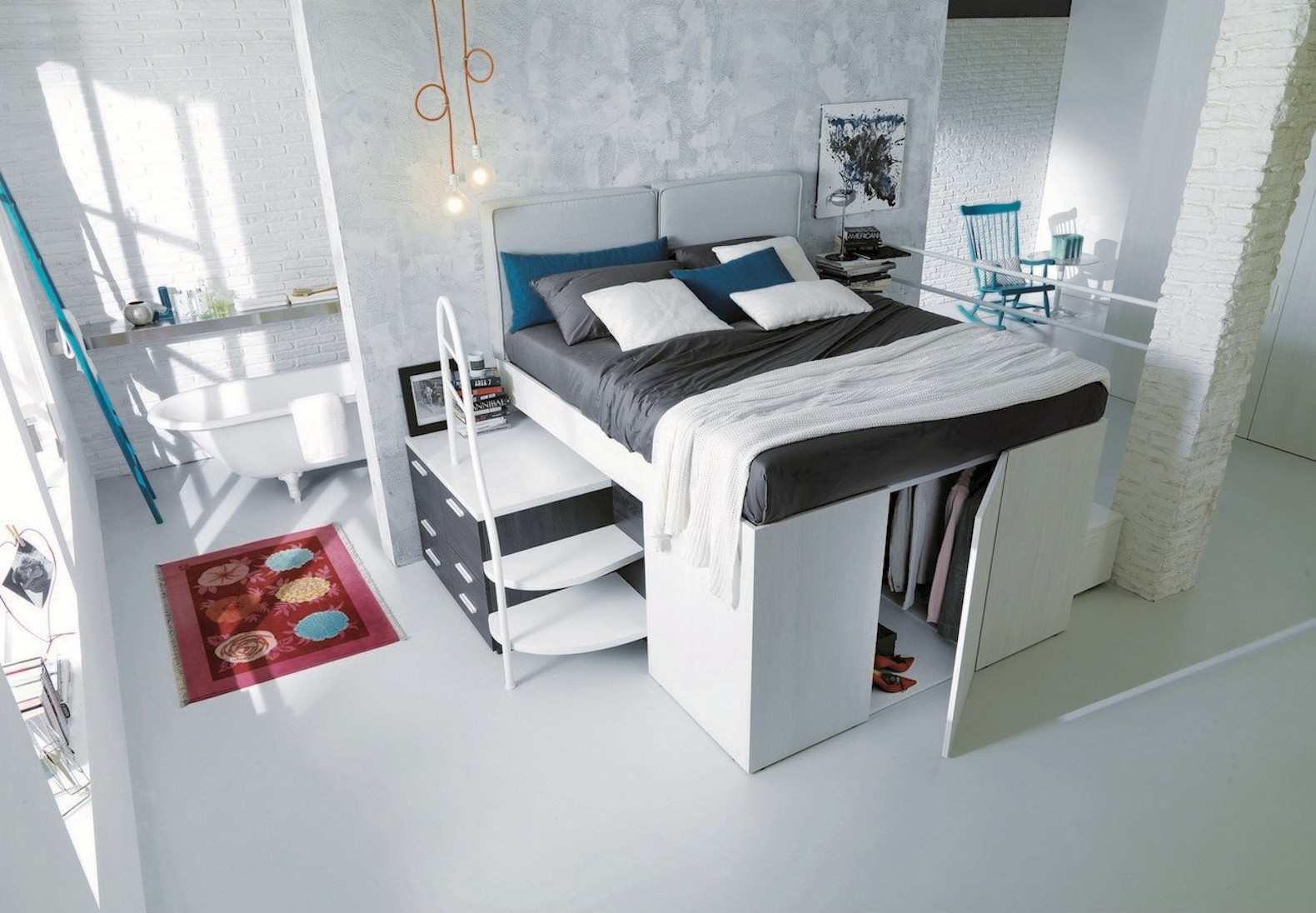 Space Saving Bedrooms Some Brilliant Ideas Of The Space Saving Beds For The Bedroom With