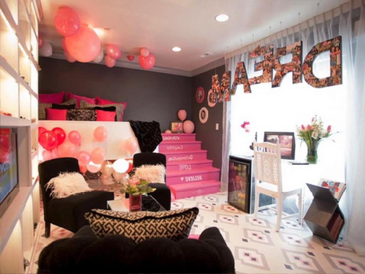 Pleasing 40 cute teenage girl bedroom ideas tumblr design for 40s room decor