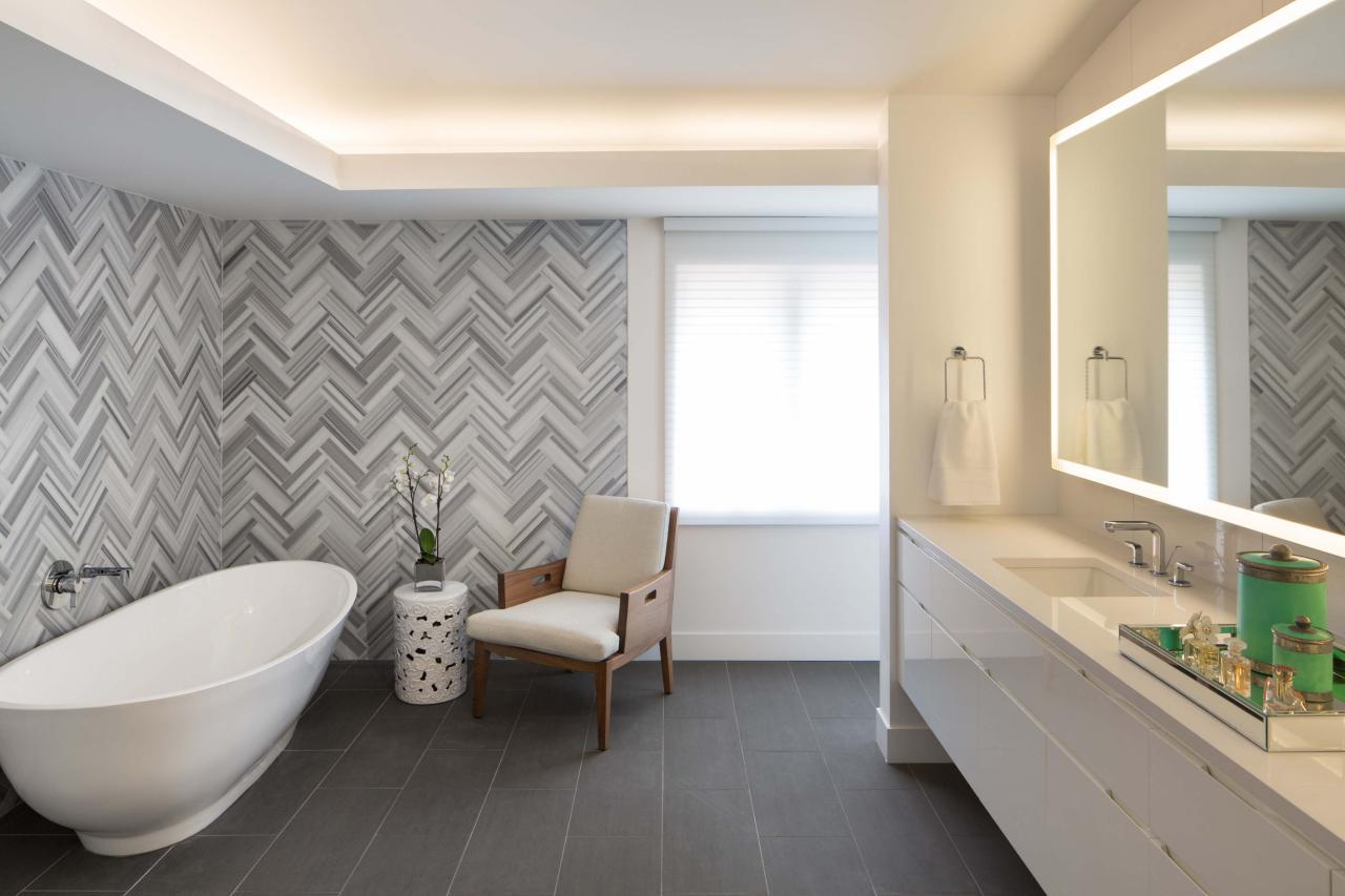 The Ingenious Ideas for Bathroom Flooring - MidCityEast