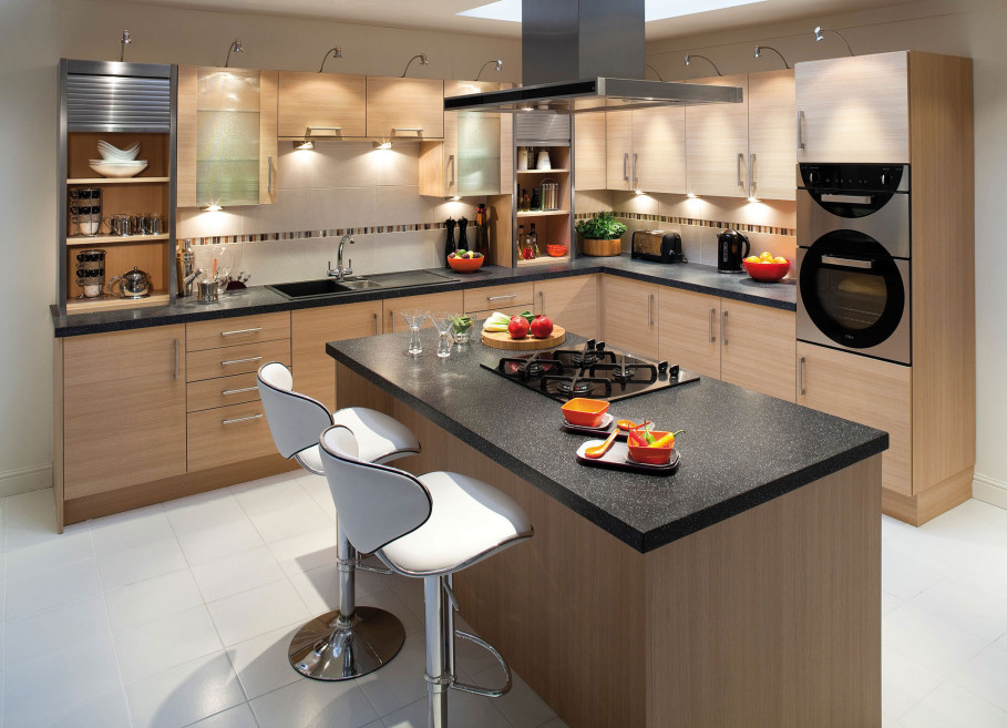 Beautiful Cabinet Using Chic Top For Best Black Kitchen Island