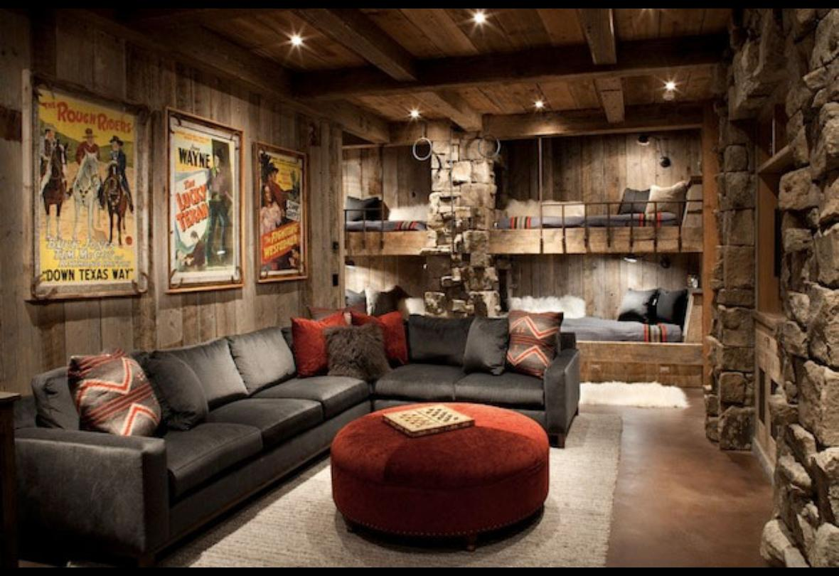 Warm and inviting rustic living room ideas midcityeast for Living room ideas rustic