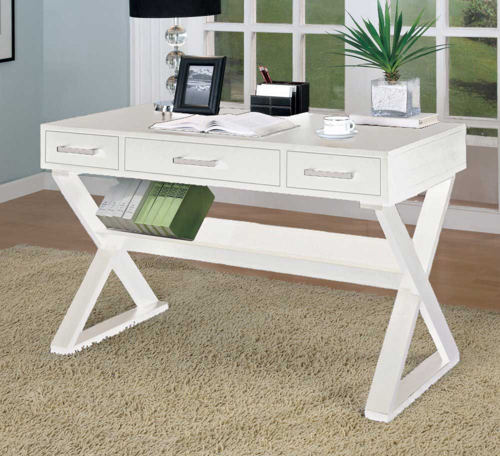 White Desk With Drawers Buying Guides MidCityEast
