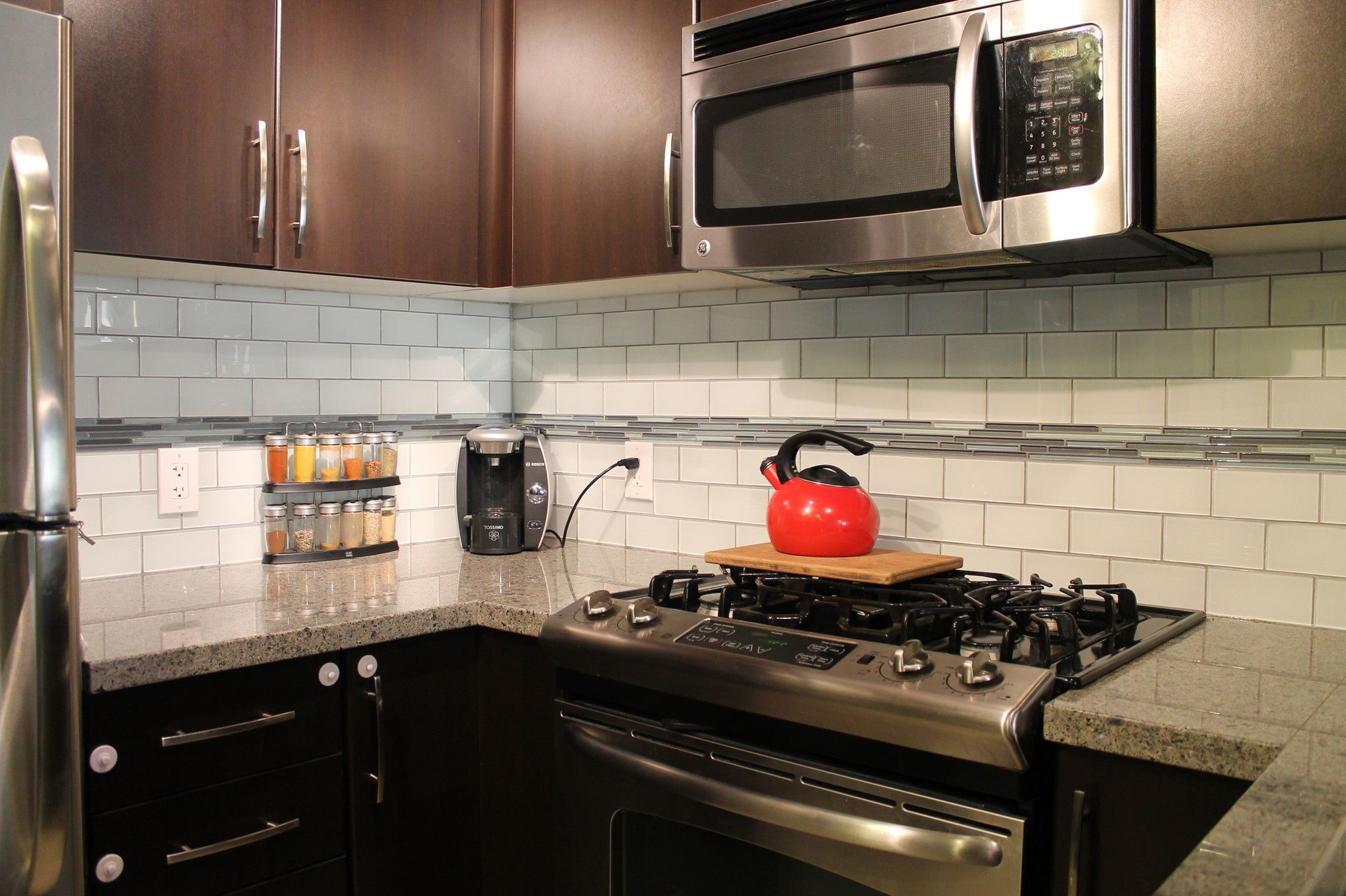 title | Glass Subway Tile Backsplash