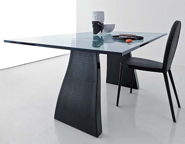 Captivating Chair Also Metal Dining Table Using Rectangular Glass To