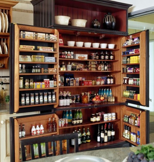 Captivating Design of Kitchen Pantry Storage For Saving Many Meals