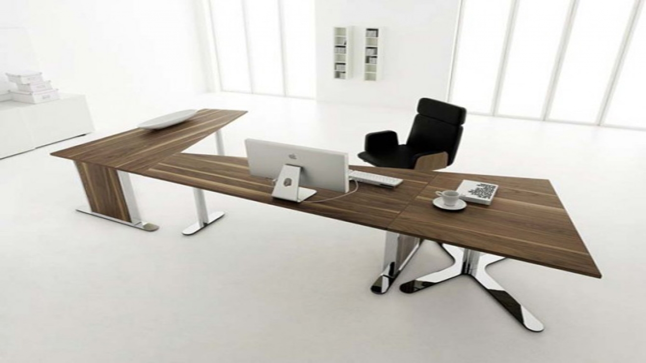 Modern Office Desk: Guides To Buy Modern Office Desk For Home Office