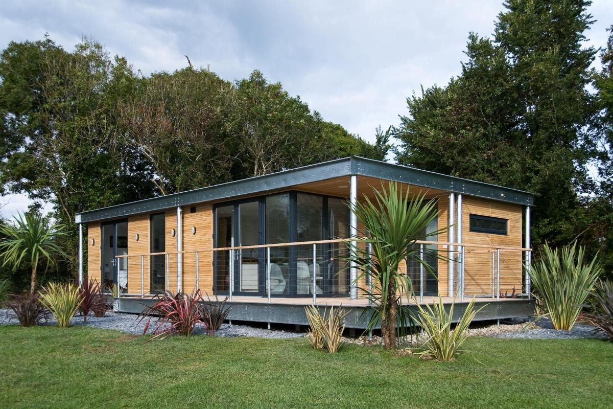 Get attractive design of small prefab homes with for Affordable contemporary homes