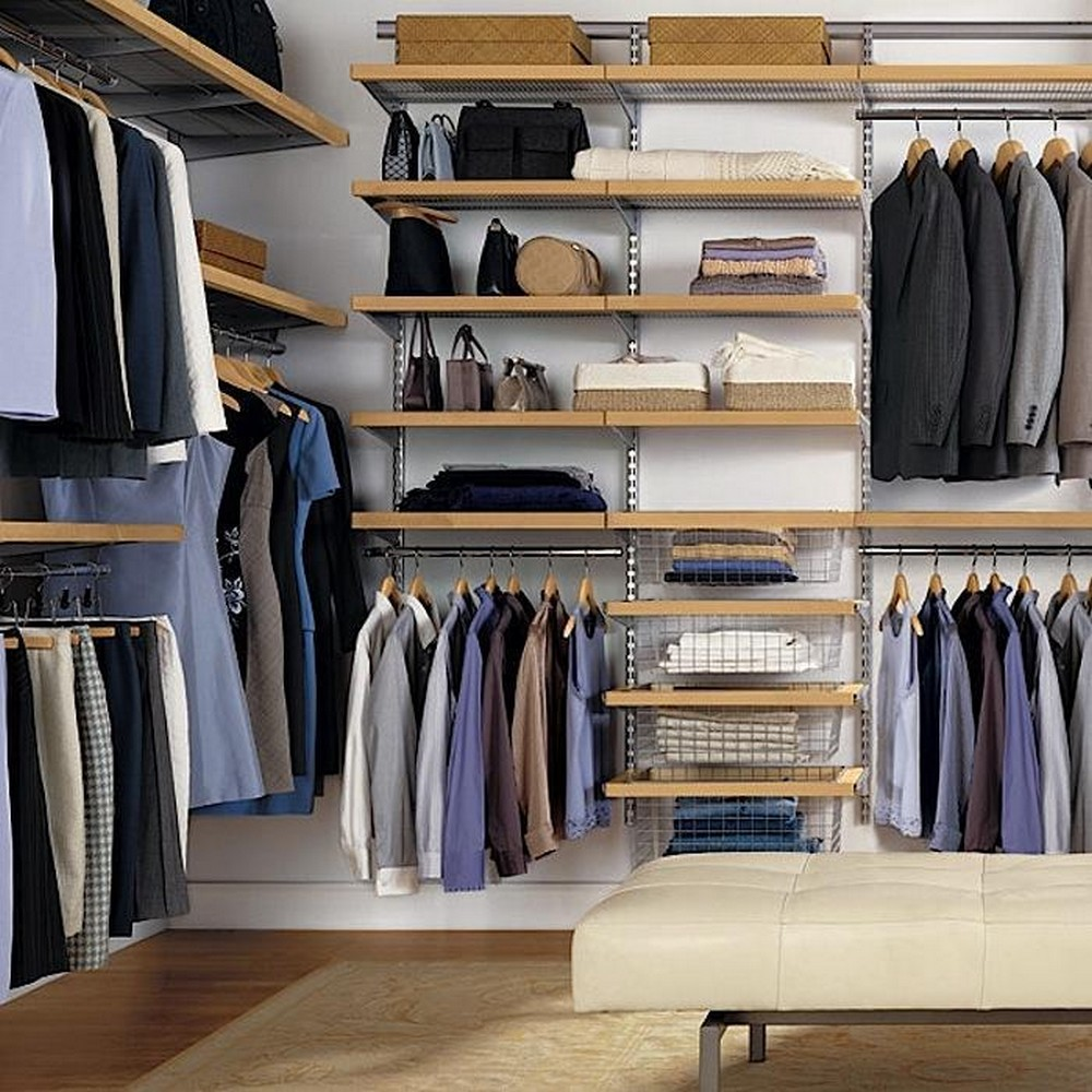 The best minimalist and elegant closet design ideas for for Decor systems