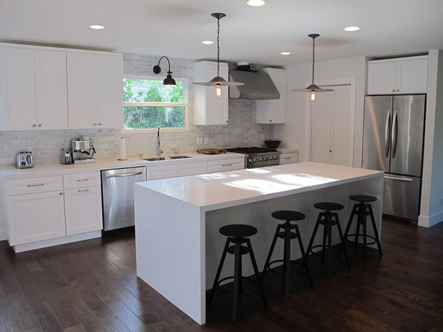 amusing kitchen island counter | Tips to Design White Kitchen Island - MidCityEast