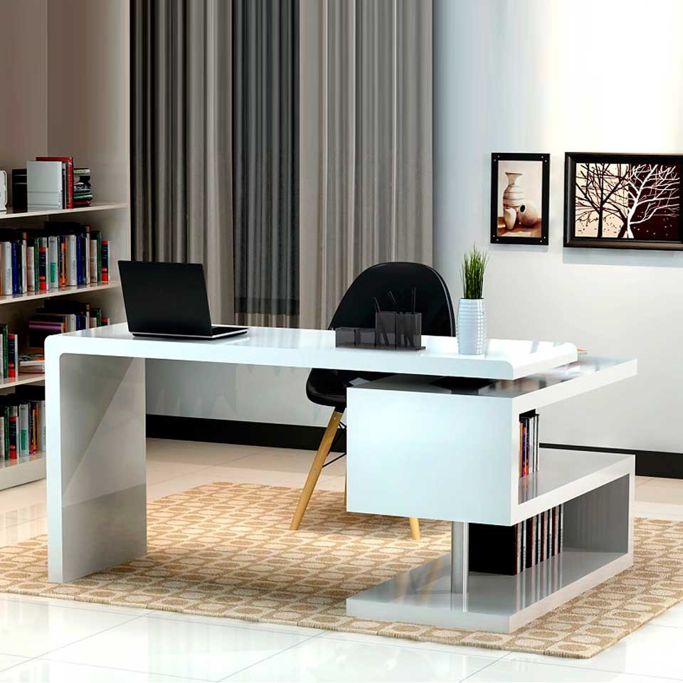 Guides to buy modern office desk for home office midcityeast for Modern desks for home office