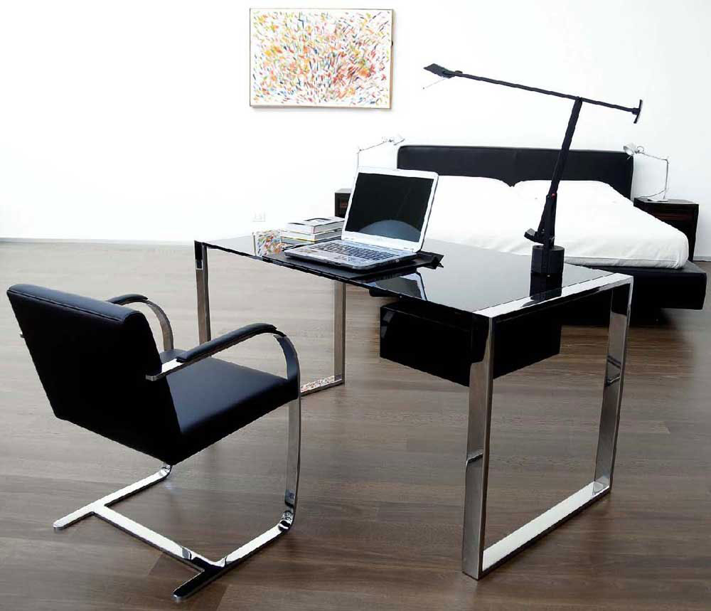 right modern computer desk for your stylish modern home office area 20