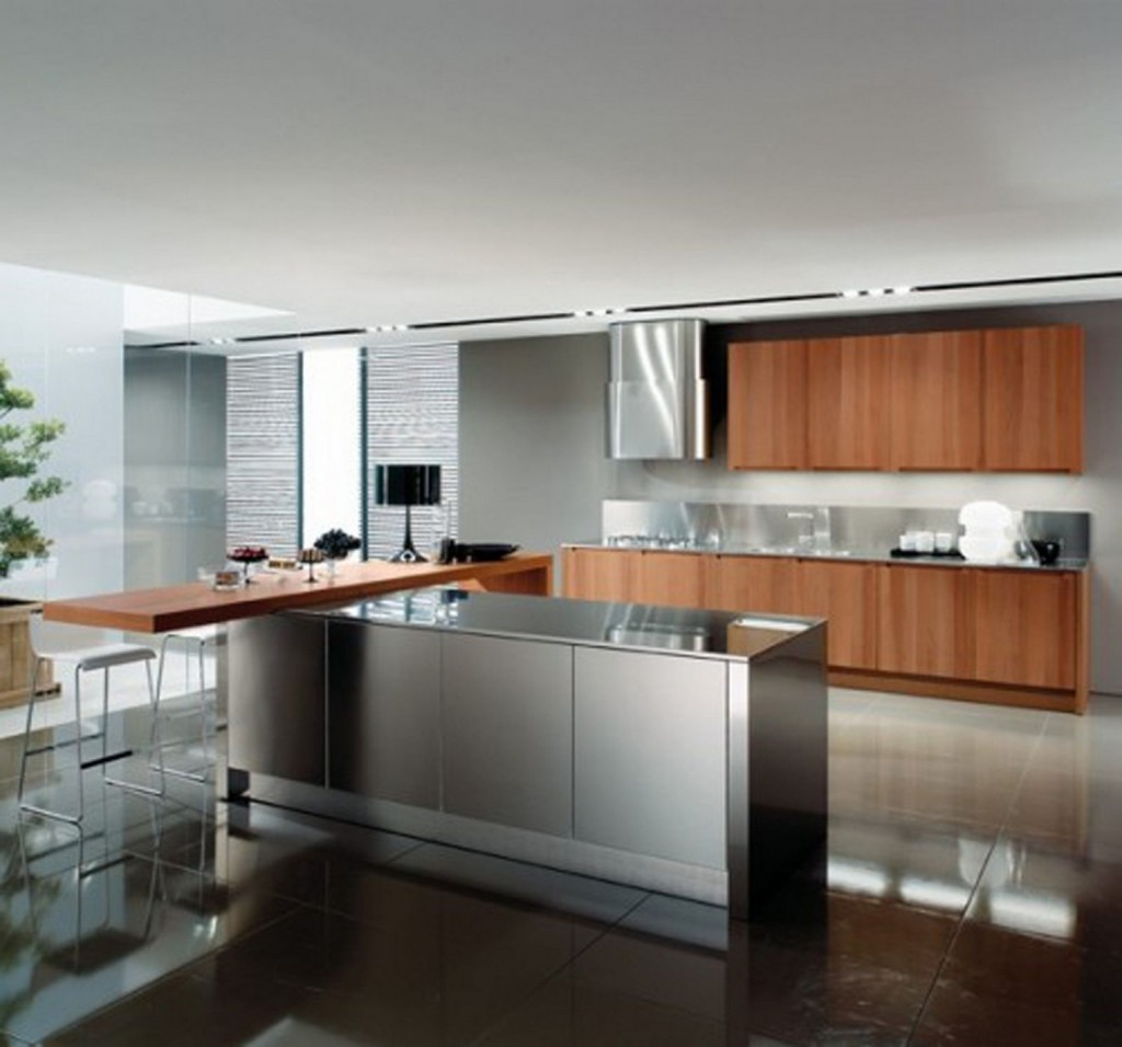 Cuisine Moderne: How To Paint Metal Kitchen Cabinets?