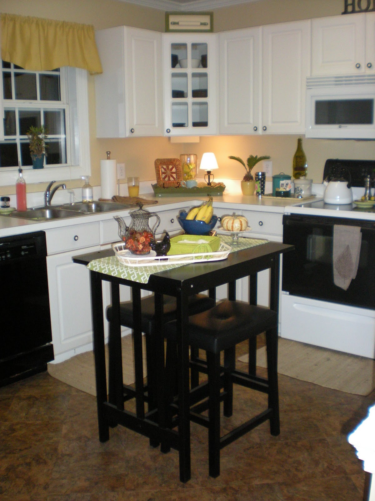 Are you ready for a total change for your small kitchen - Kitchen island with stools ...