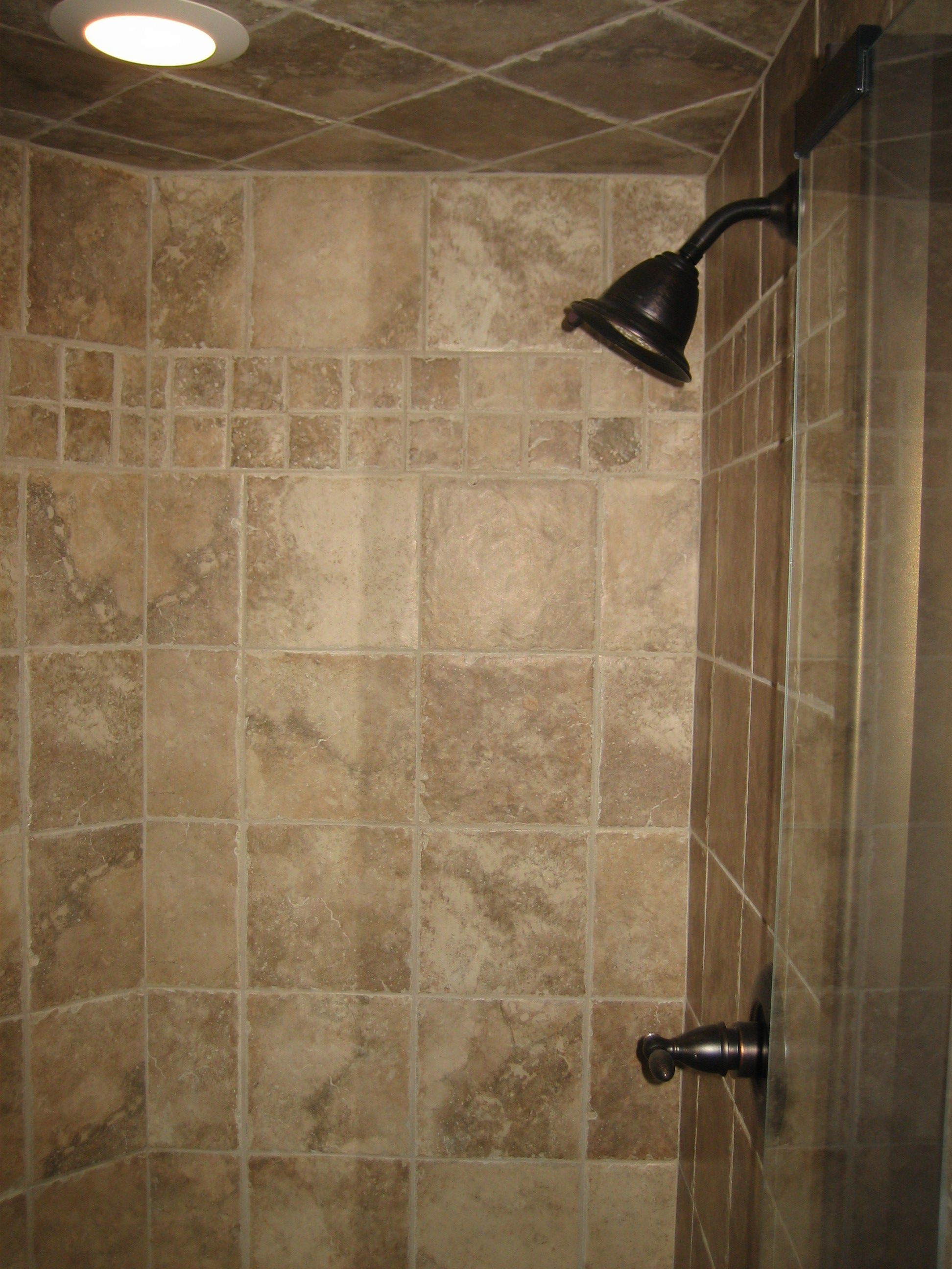Ideas for shower tile designs midcityeast Bathroom wall tiles laying designs