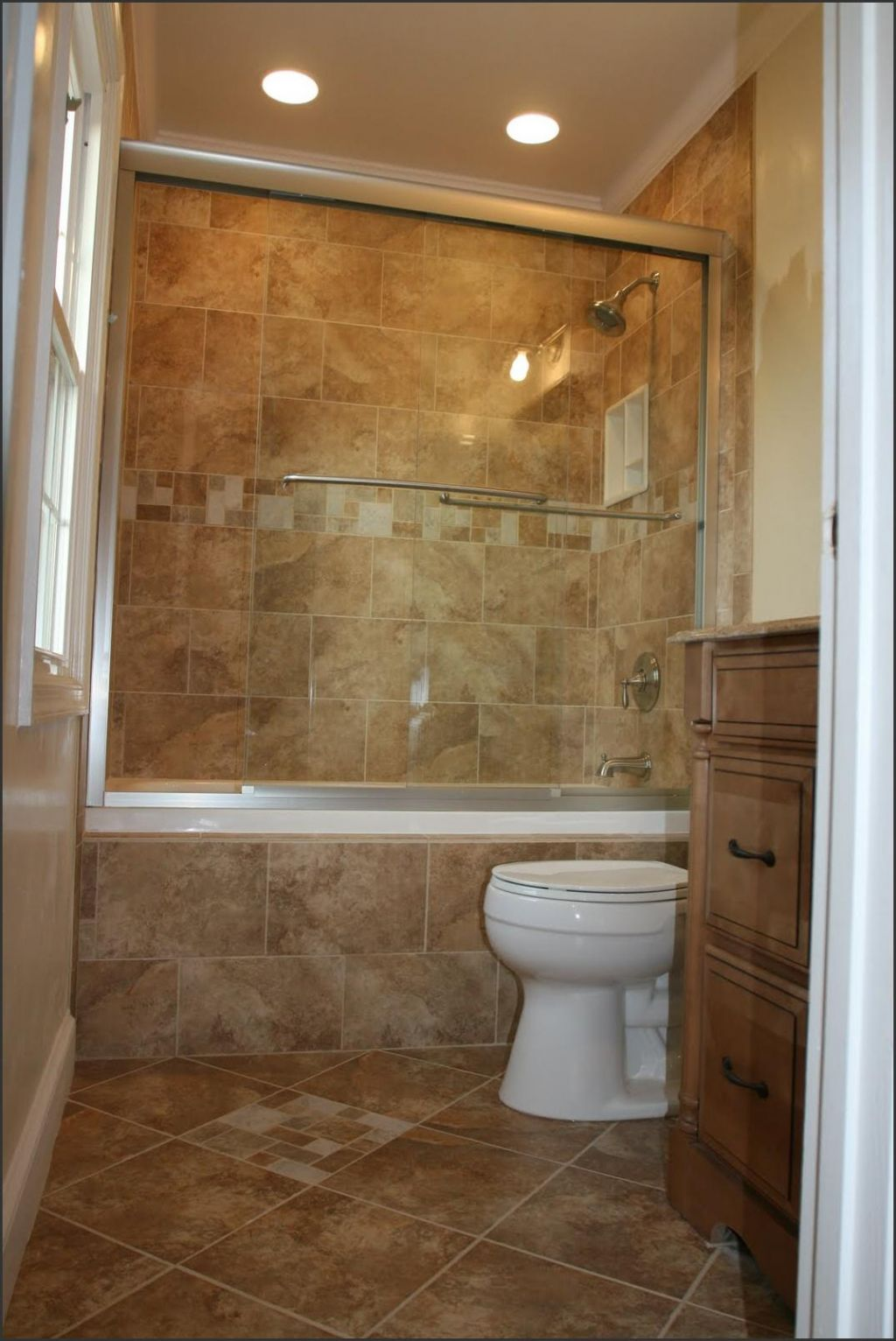 Ideas for shower tile designs midcityeast for Fast bathroom remodel