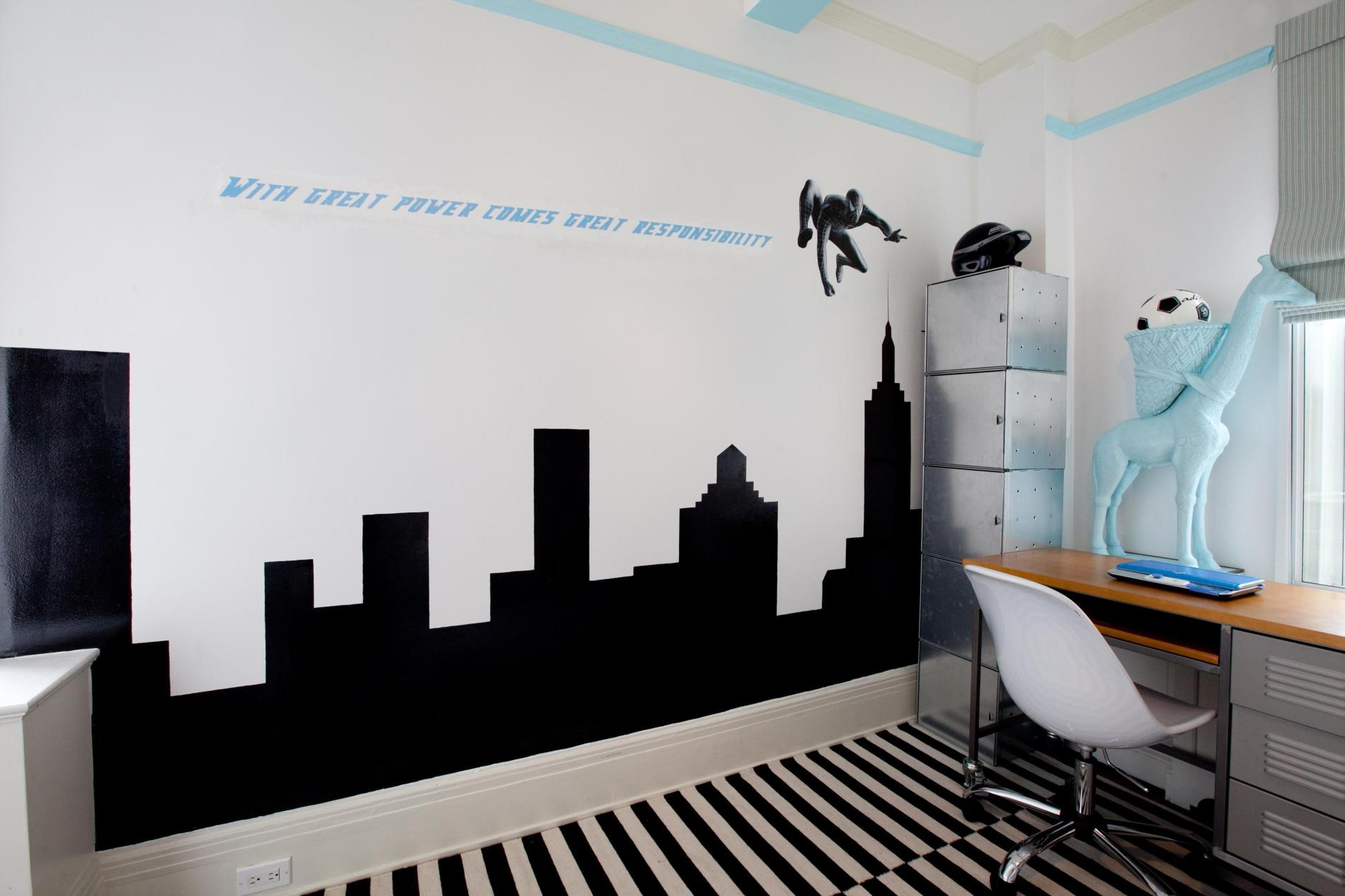 Find your 4 suitable boys room d cor ideas here midcityeast for Boys room mural